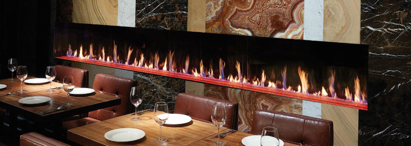 Davinci Earls Fireplace
