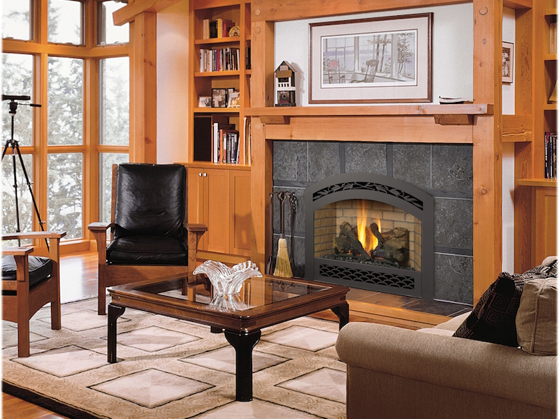 Gas Fireplaces and Inserts at Raleigh Fireplace
